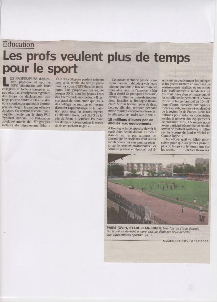 Article parisien, Edition Hauts-De-Seine